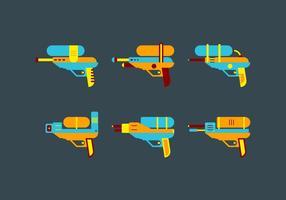 Free Cute Watergun Vektor