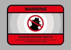 Neighbourhood Watch Illustration