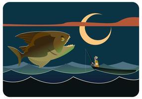 Giant Piranha Vektor