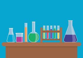 Chemische Flasche Set