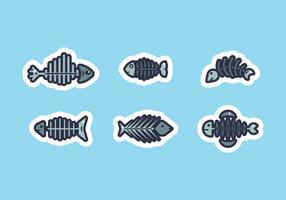 fishbone free vector pack