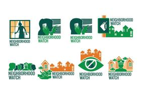 Neighborhood Watch Sign Vector