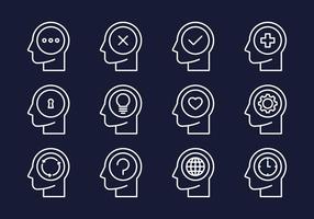 Gehirn-Aktivitäts-Icon