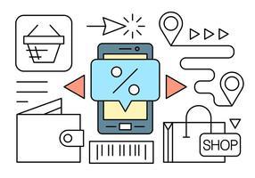 Kostenlose Online-Shop Vektor-Elemente