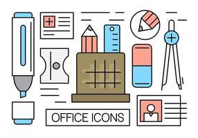 Gratis Office-ikoner vektor