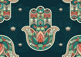 Hamsa Pattern Hintergrund