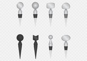 Weinflasche Stoppers Set