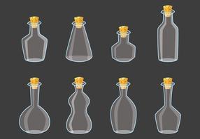 Flasche mit Stopper vektor