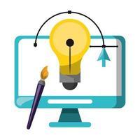 Vektoren und digitale Werkzeuge für das Grafikdesign