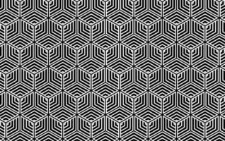 hexagon sömlösa mönster vektor