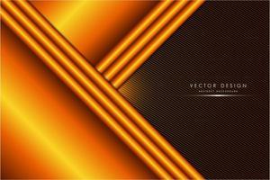 modern orange och brun metallisk bakgrund vektor