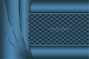 moderner silberner und blauer metallischer Hintergrund