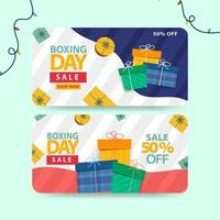 specialerbjudande banner eller presentkort design vektor