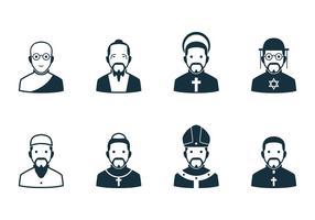 Religion Menschen Icon vektor