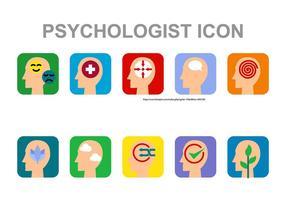 Psychologe Icon Vektor