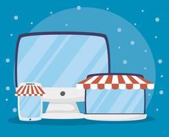 Gadgets für Online-Shopping und E-Commerce