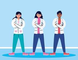 medicinsk personal seriefigurer