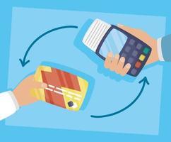 Gutschein und Kreditkarte Online-Shopping und E-Commerce