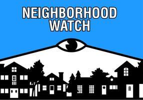 grannskap titta gratis vektor