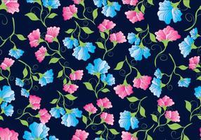 Süße Erbse Blumen Muster