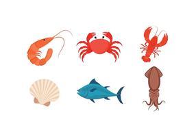 Meeresfrüchte Free Vector