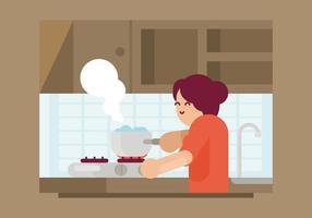 Kochendes Wasser Illustration