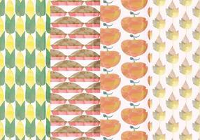 Vector Set von Fall Patterns