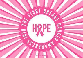 Bröstcancer medvetenhet bakgrund
