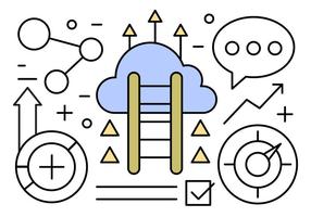 Gratis företag vektor illustration