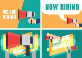 Vi är anställningsvillkor Öppet rekryteringsmeddelande
