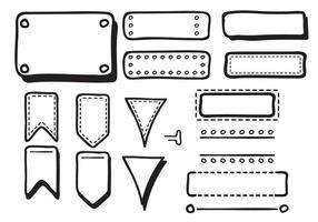 Handdrawn Bullet Journal Vectors