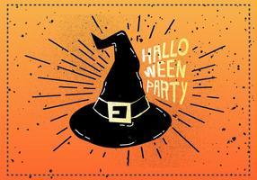 Kostenlose Vintage Halloween-Vektor-Illustration
