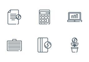 Lön och finans ikon