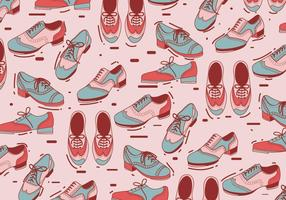 Tap Schuhe Muster Vektor