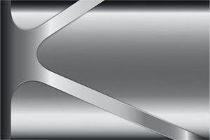 modern silvermetallisk bakgrund
