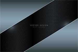 moderner blauer und grauer metallischer Hintergrund