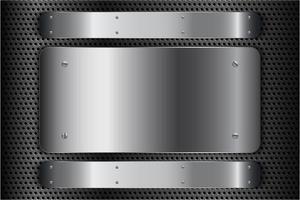 moderner silberner metallischer Hintergrund
