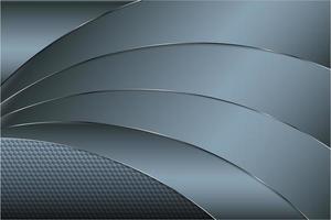 modern grå metallisk bakgrund vektor