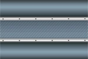 moderner blauer und silberner metallischer Hintergrund