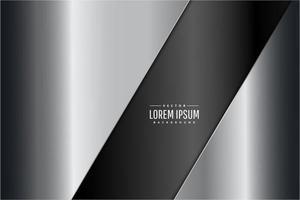 moderner silberner und grauer metallischer Hintergrund