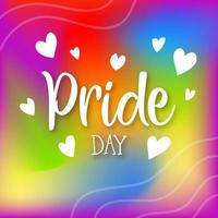 Happy Pride Day Social Media Post Design