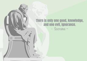 Sokrates Illustration vektor