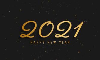 2021 frohes neues Jahr Hintergrund