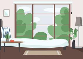 leere Schlafzimmerszene