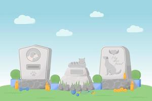 Grabsteine für Haustiere