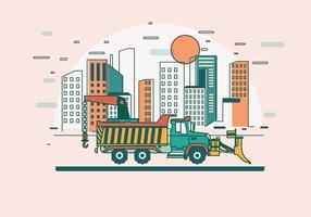 Vinsch på lastbilvektorn