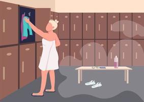 dusch efter träning