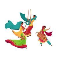 Teej Festival schwingen