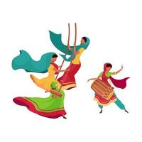 Teej Festival schwingen vektor