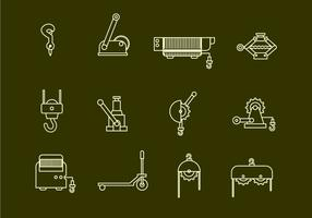 Winde-Vektor-Icons